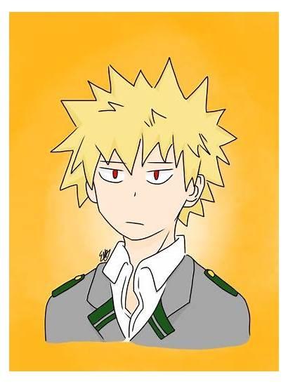 Bakugou Drawing Hero Academia Finished