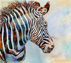 watercolor paintings of zebras | Imperial Zebra | Art ...