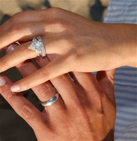 prettiest wedding rings engagement ring vs minnillo who scored the best bling from