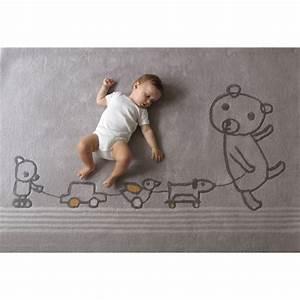 Tapis Chambre D Enfant : tapis chambre de b b gris paint club ~ Teatrodelosmanantiales.com Idées de Décoration