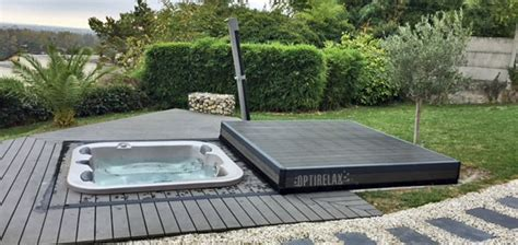 Whirlpool Garten Mit Abdeckung by Whirlpool Auf Terrasse