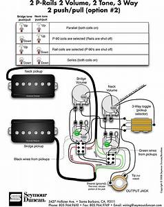 Seymour Duncan P Rails Wiring 2 In 2019
