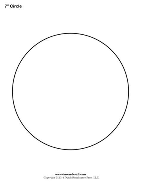 circle template   tims printables