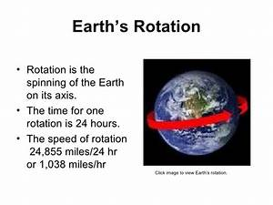 Ch 11 Earths rotation and revolution