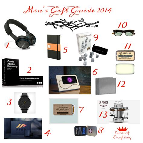 christmas gift guide for men 2014 queen of everything