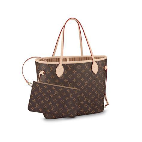 neverfull mm louis vuitton monogram handbag  women