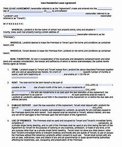 impressive residential lease agreement template example With housing lease template
