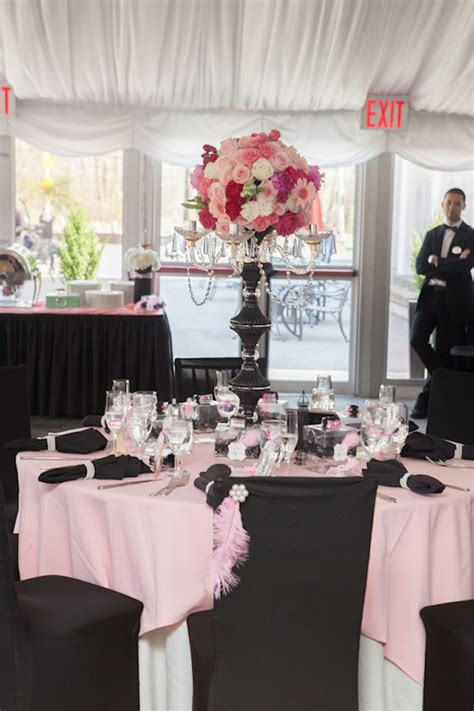 Karas Party Ideas Pink Paris Themed Baby Shower