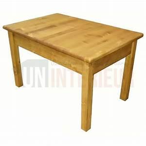 Table En Pin Massif : table portefeuille de 120cm 160cm de large pin massif ~ Teatrodelosmanantiales.com Idées de Décoration