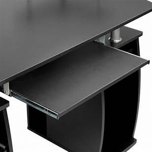 Schreibtisch Mit Druckerfach : computertisch pc tisch arbeitstisch schubladen ~ Michelbontemps.com Haus und Dekorationen