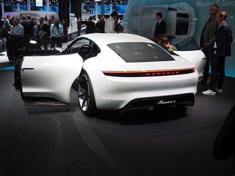 porsche mission e doors porsche unveiled the mission e their new electric car