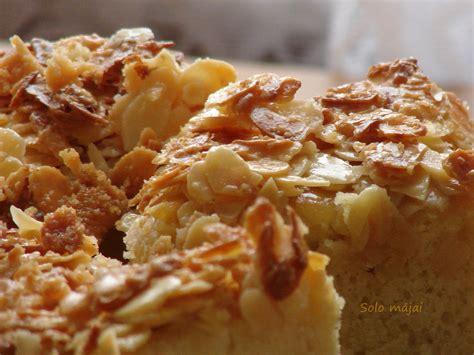Solo mājai: Mandeļu kūka