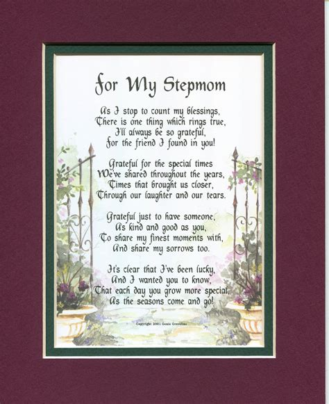 Gifts For Stepmom Stepmothers Mothers Day