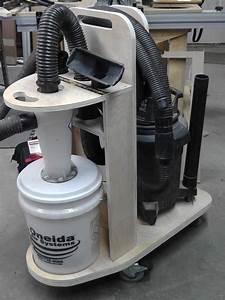 DIY CNC Project – Dust Deputy Cyclone Separator Cart DIY