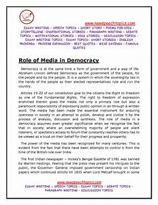 what does democracy mean to you essay