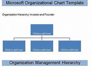 Get Microsoft Organizational Chart Template