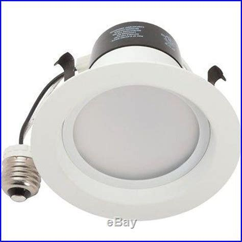 6 tcp led recessed can light retrofit kit 5 6 dimmable
