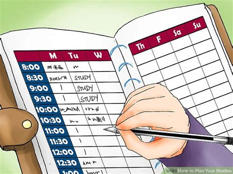 How To Plan Your Studies 11 Steps (with Pictures) Wikihow