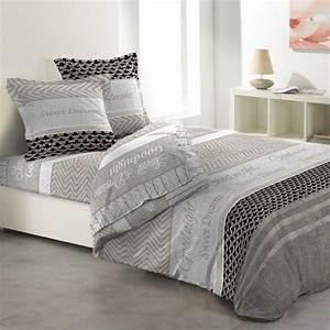 Parure De Drap Ikea : parure de draps linge de lit eminza ~ Melissatoandfro.com Idées de Décoration