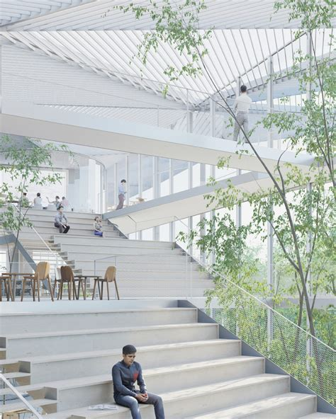 Sou Fujimoto To Build Learning Center At Ecole Polytechnique