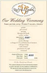 wording for wedding programs wedding program wording destination weddings in jamaica best destination wedding 27203