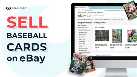 Sometimes this doesn't mean dealing directly with the sports card. How to Sell Baseball Cards on eBay | Best Selling Baseball Cards on eBay - YouTube
