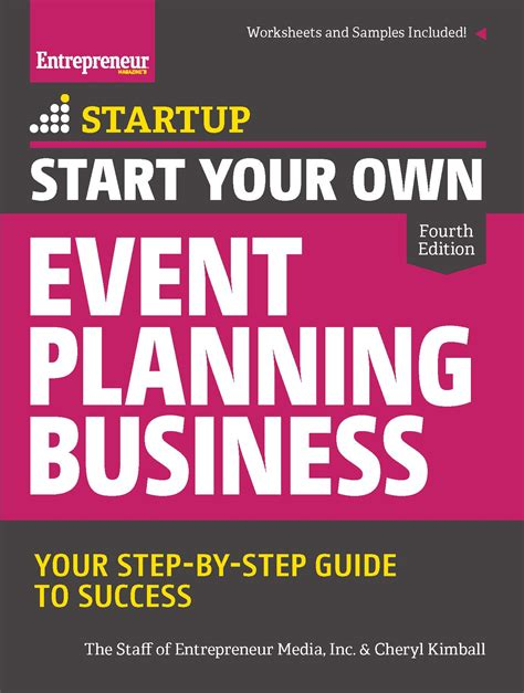start   event planning business  edition