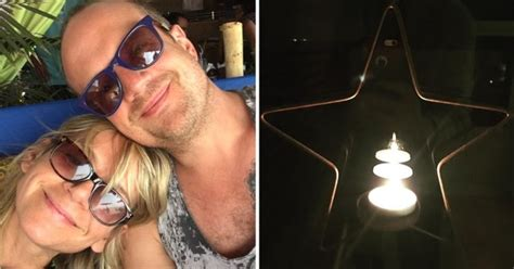 Zoe Ball pays touching candlelit tribute to late boyfriend ...