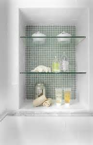 bathroom niche ideas how do you secure the glass shelves in the shower niche