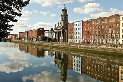 Dublin Liffey River Ireland Beer Wheat Poppies
