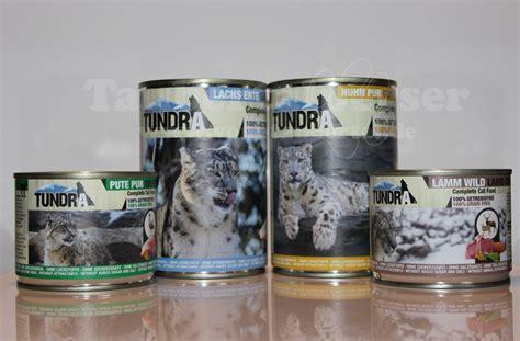 katzenfutter im test tundra nassfutter taubertalperser