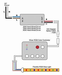 Vlightdeco Trading  Led   Wiring Diagrams For 12v Led Lighting