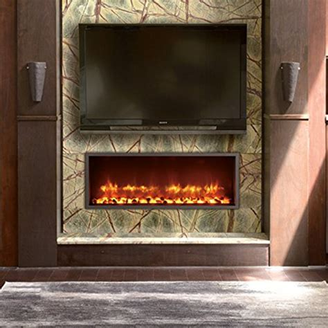 Dynasty Builtin Electric Led Fireplace