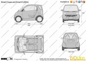 the blueprintscom vector drawing smart coupe and smart k With smart car prices