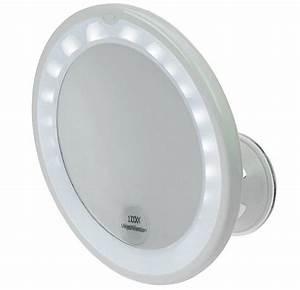 Kosmetikspiegel Mit Led Beleuchtung Und Vergrößerung : kosmetex spiegel mit 10 fach vergr erung led beleuchtung und saugnapf ~ Sanjose-hotels-ca.com Haus und Dekorationen