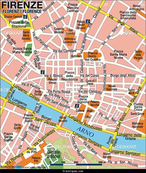 map  florence travelquazcom
