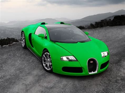 Cars Wallpaper Bugatti Green by Lime Green Bugatti