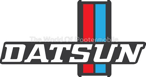 Datsun Logo by Quot Datsun 620 Emblem Quot Stickers By The World Of Pootermobile