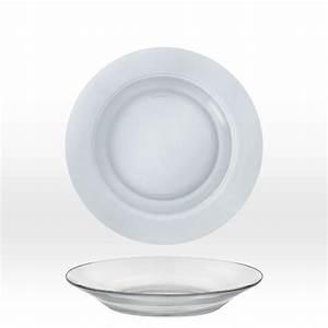 Assiette Creuse Design : assiette creuse en verre ~ Teatrodelosmanantiales.com Idées de Décoration