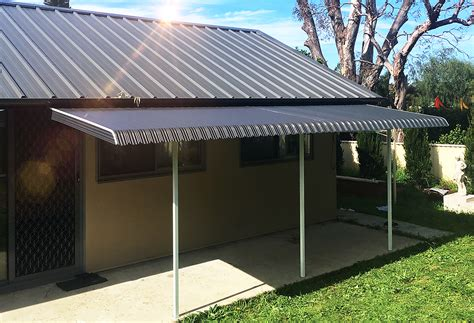 fixed steel awnings  sydney melbourne wynstan