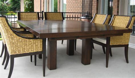 table de cuisine carr馥 table de cuisine 8 places maison design modanes com