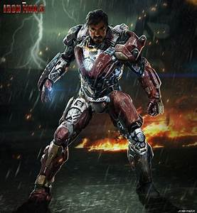 IRON MAN 3 Concept Art by Andy Park, Rodney Fuentabella ...