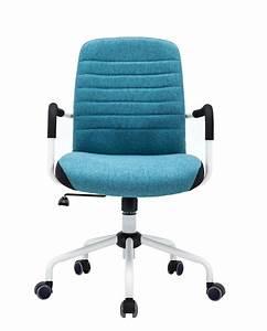 Chaise De Bureau Bleu : flair chaise de bureau design ~ Teatrodelosmanantiales.com Idées de Décoration