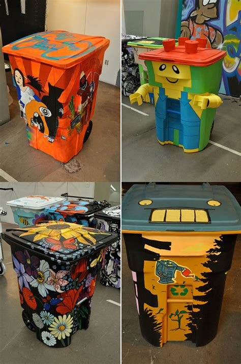 diy garbage  art ideas   instructions