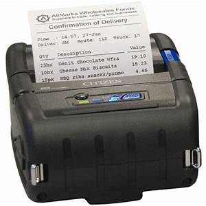 Mobile printer posmicrocom for Portable invoice printer
