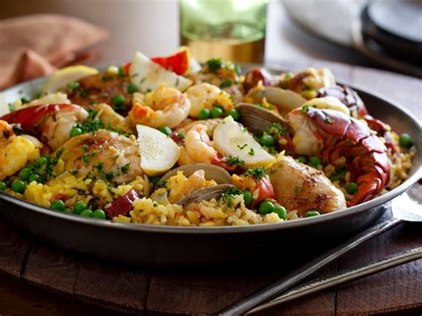 Spanishinspired Main Dishes  Recipes  Cooking Channel