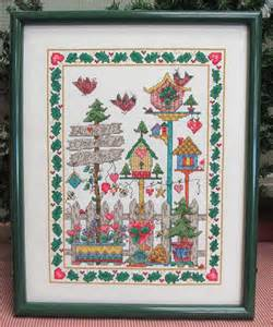all hearts come home at christmas counted cross stitch