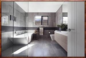 Fliesen Wohnbereich Modern : moderne badezimmer fliesen grau zuhause dekoration ideen ~ Sanjose-hotels-ca.com Haus und Dekorationen