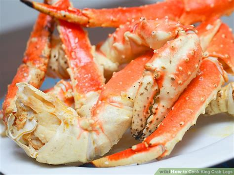 how 2 cook crab legs 4 ways to cook king crab legs wikihow