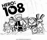 Hero Coloring Zero Template Sketch sketch template